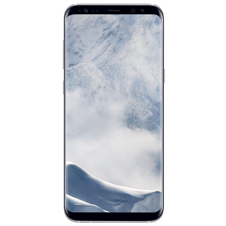 "Smartphone 6.2"" Samsung Galaxy S8+ Plus - 64 Go, Argent"