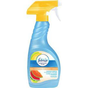 Spray désodorisant textile Fébreze (50% sur la carte + BDR)