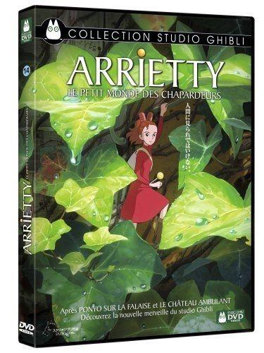 Sélection de DVD Studio Ghibli en Promotion - Ex: Arrietty, le petit monde des chapardeurs (+0,60€ remboursés en Super Points)