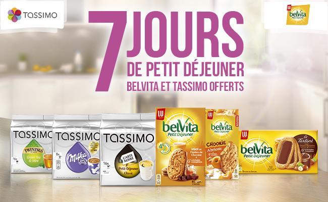4.60€ de réduction pour l'achat d'un paquet de T-Discs Tassimo et d'un paquet de Belvita (Lot potentiellement gratuit)