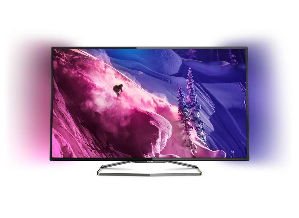 "TV LED 55"" Philips 55PFS6909 - Smart TV, 3D, Ambilight"