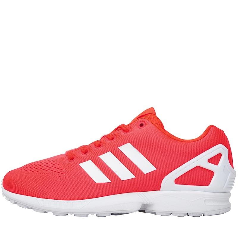 Baskets adidas Originals ZX Flux EM Orange / Rouge pour Hommes - Tailles au choix