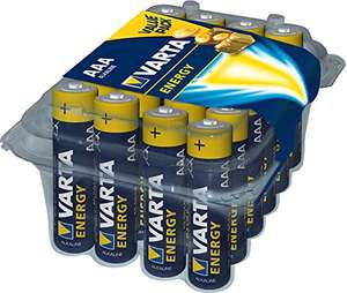 Pack de 24 piles Varta Energy Micro AAA