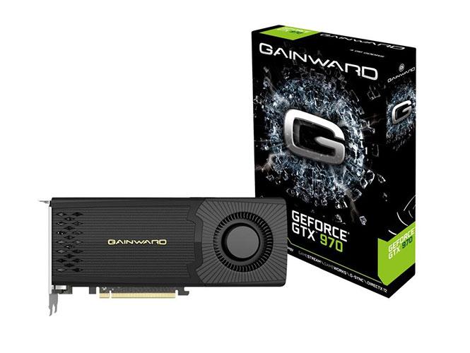 Carte graphique Gainward GeForce GTX 970 - 4 Go