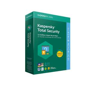 Licence Antivirus Kaspersky Total Security - 2 ans