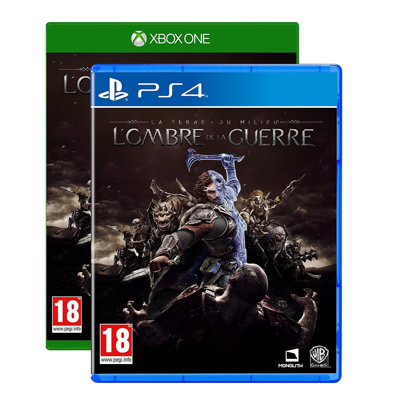 La Terre du Milieu: L'Ombre de la Guerre sur PS4 ou Xbox One