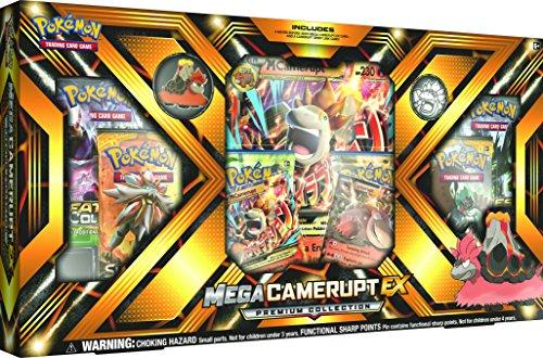 Pokémon - Jeux de Cartes - Coffret - Mega Camerupt Ex Premium Collection