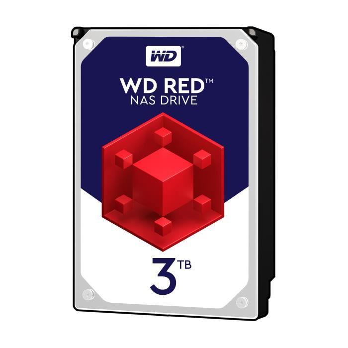 """[Cdiscount à volonté] Disque dur NAS 3.5"""" Western Digital WD Red - 3 To (WD30EFRX) à 89.90€ et 4 To (WD40EFRX) à 119.90€"""