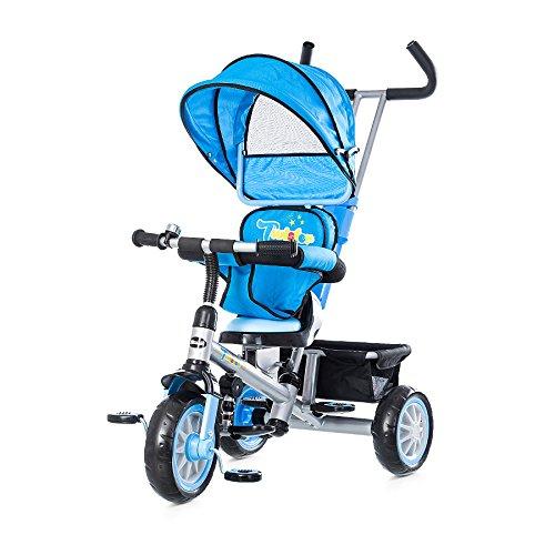 Tricycle Chipolino Twister sans convertible - Bleu