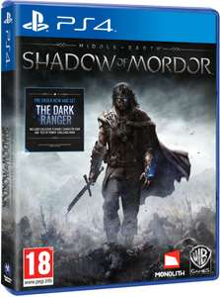 La Terre du Milieu : L'ombre du Mordor sur PS4
