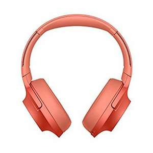 Casque Sony WH-H900N Bluetooth, réduction de bruit - Rouge