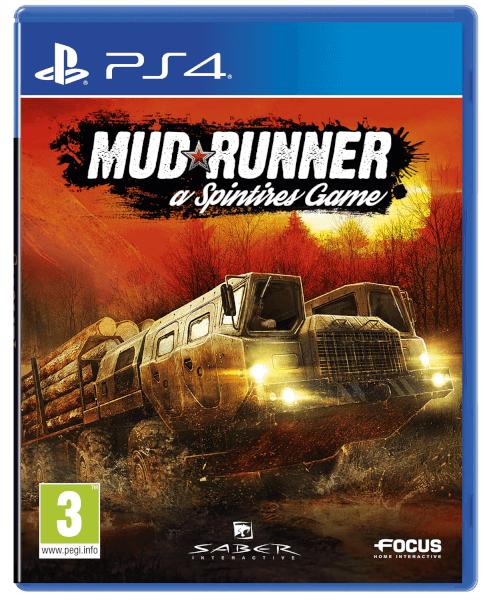 Spintires Mudrunner sur PS4