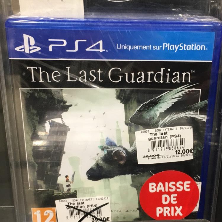Sélection de Jeux Vidéo en promo. Ex: The Last Guardian PS4  (Leclerc Pleuven - 29)