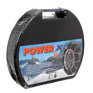 Jeu de chaines neige Everest serie X-12mm Power X2 N°090