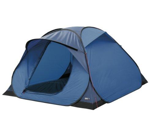 Tente High Peak instantanée Bleu/Gris 210 x 210 x 130 cm