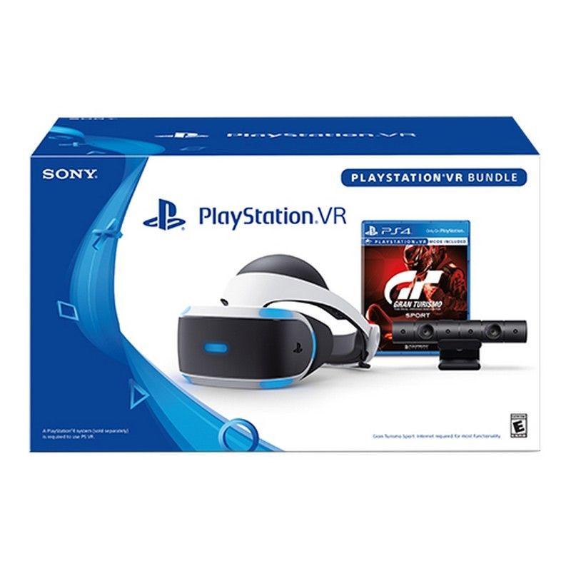 Casque de réalité virtuelle Playstation VR + Caméra + Gran Turismo