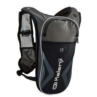 Sac trail Kalenji 8L + poche à eau 1L (en magasin)