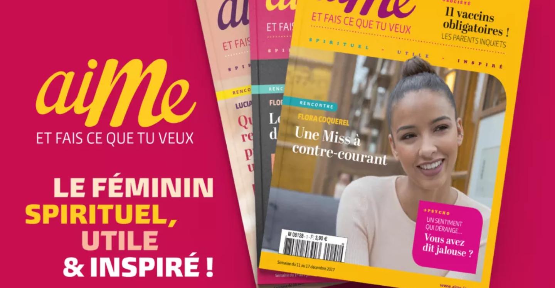 Recevoir gratuitement un numéro du Magazine Aime