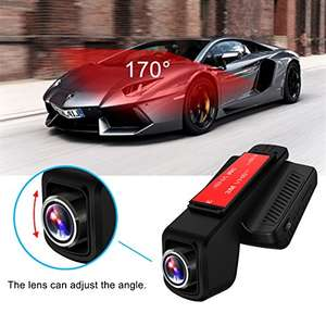 Dashcam voiture Toguard CE20 WiFi + GPS - Full HD (Vendeur tiers)
