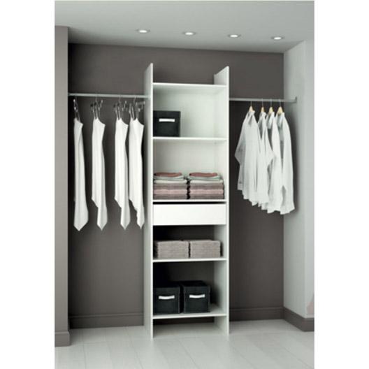 Kit dressing blanc Modul'eco (H203 x L180 x P40 cm)