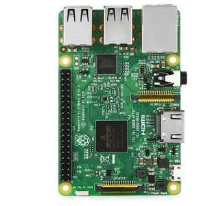 Carte de Développement Raspberry Pi 3 B (Version UK) - ARM Cortex-A53, RAM 1 Go (WiFi / Bluetooth / Ethernet - 4 USB / Micro SD / HDMI)