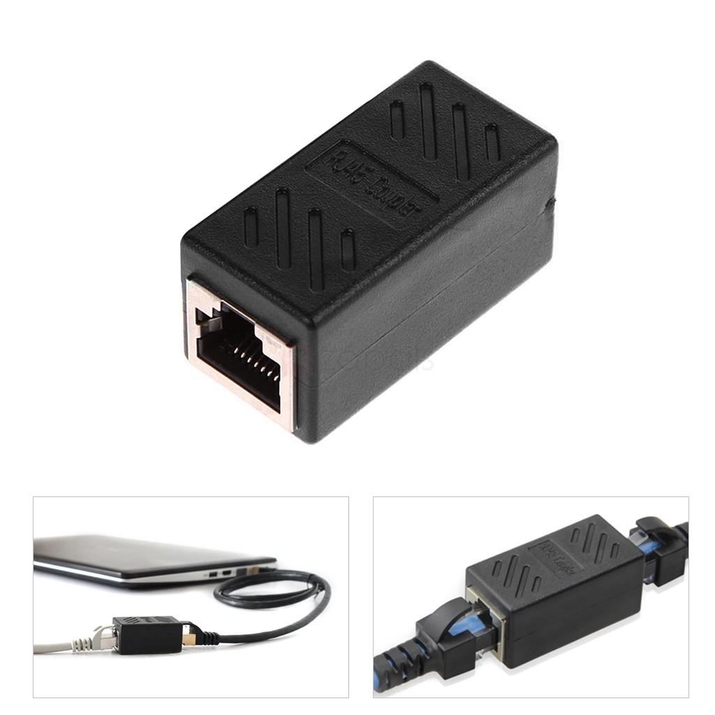 Adaptateur d'extension de câble Ethernet RJ45 femelle à femelle (frais de port inclus)