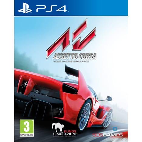 Jeu Assetto Corsa sur PS4 et Xbox one