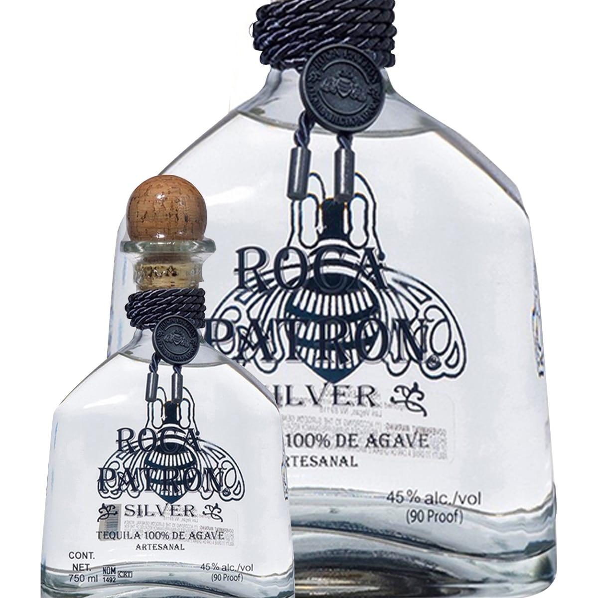 Bouteille de Tequila Patrón Roca Silver - 70cl