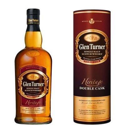 Bouteille de Whisky Glen Turner Heritage - 70cl (Via Carte de Fidélité + BDR)
