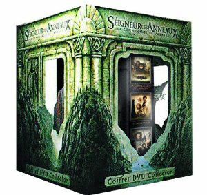 Coffret DVD Le Seigneur des Anneaux + Statuette