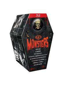 Coffret Blu-ray Universal Pictures Monsters (8 films)