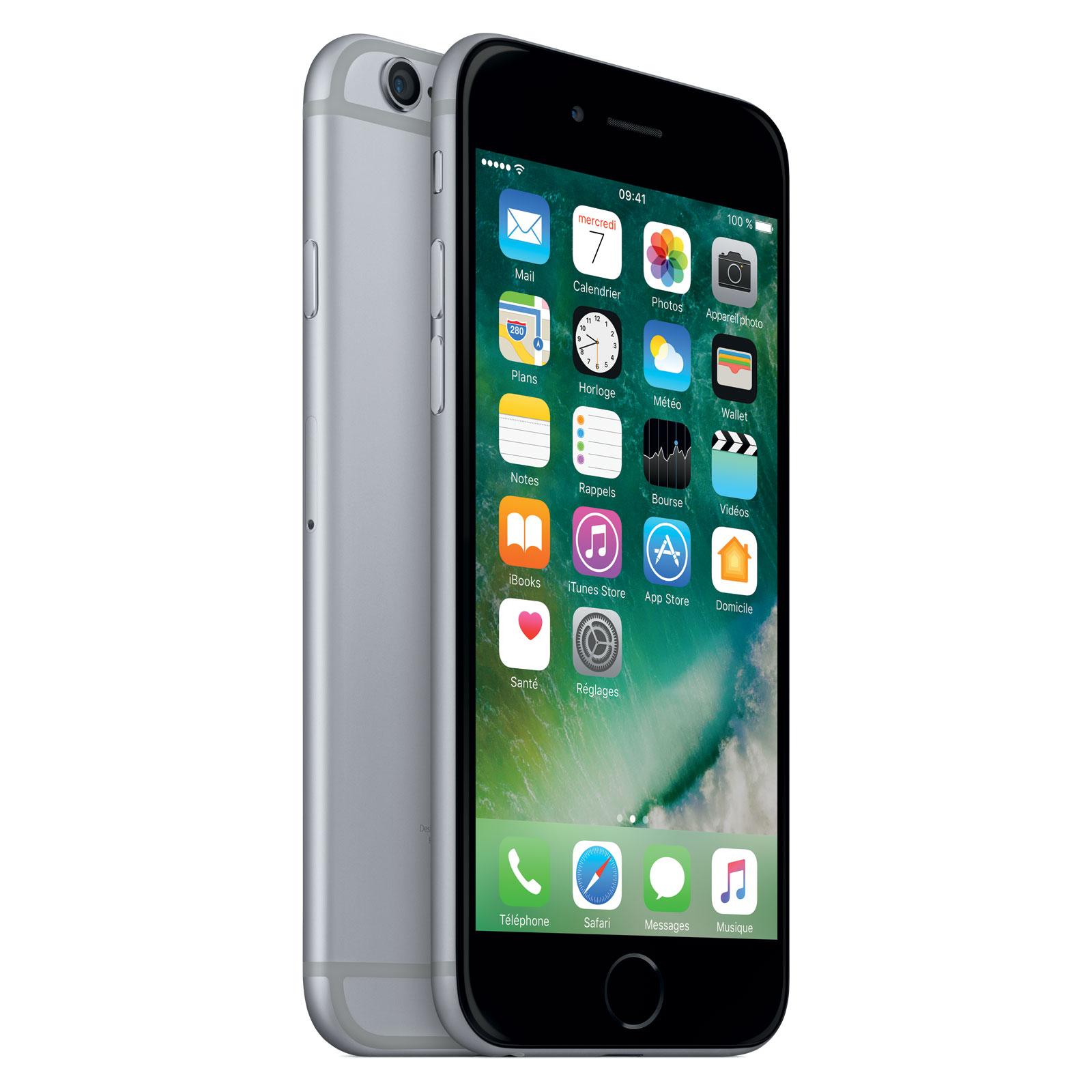 "Smartphone 4.7"" iPhone 6S - 16 Go, Or ou Gris sidéral - Reconditionné (via ODR 50€)"