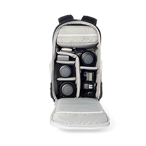 Sac à dos AmazonBasics Trek pour appareil photo - Noir