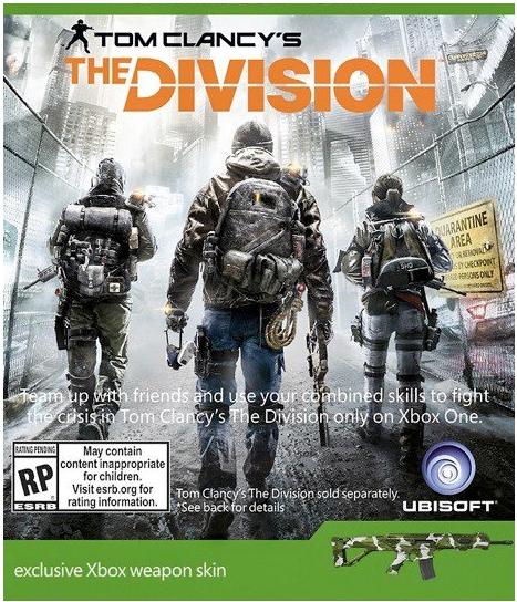 Skin d'arme  The Division Xbox (nécessite le jeu de base)