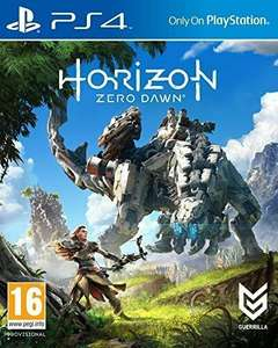 Horizon Zero Dawn sur PS4