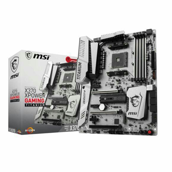 Carte mère MSI X370 XPower Gaming Titanium - socket AM4