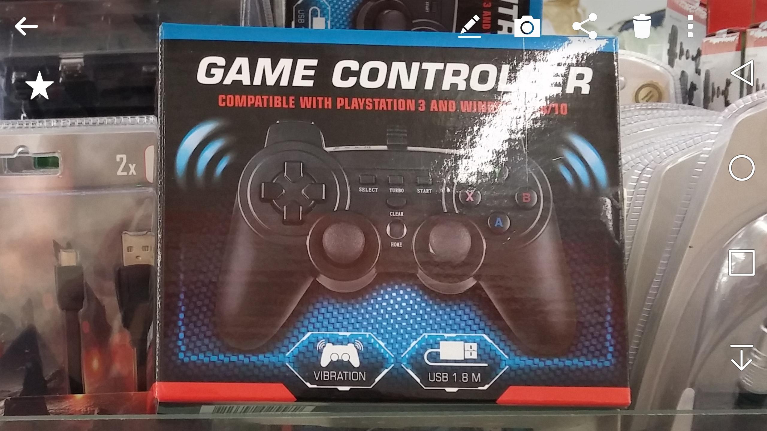 Manette de jeu Game Controller pour PC ou PS3 chez Action Macôn (71)