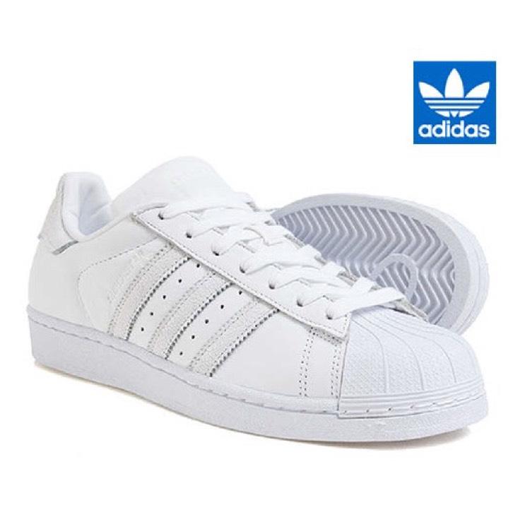 Baskets adidas Superstar BZ0184 - Blanche