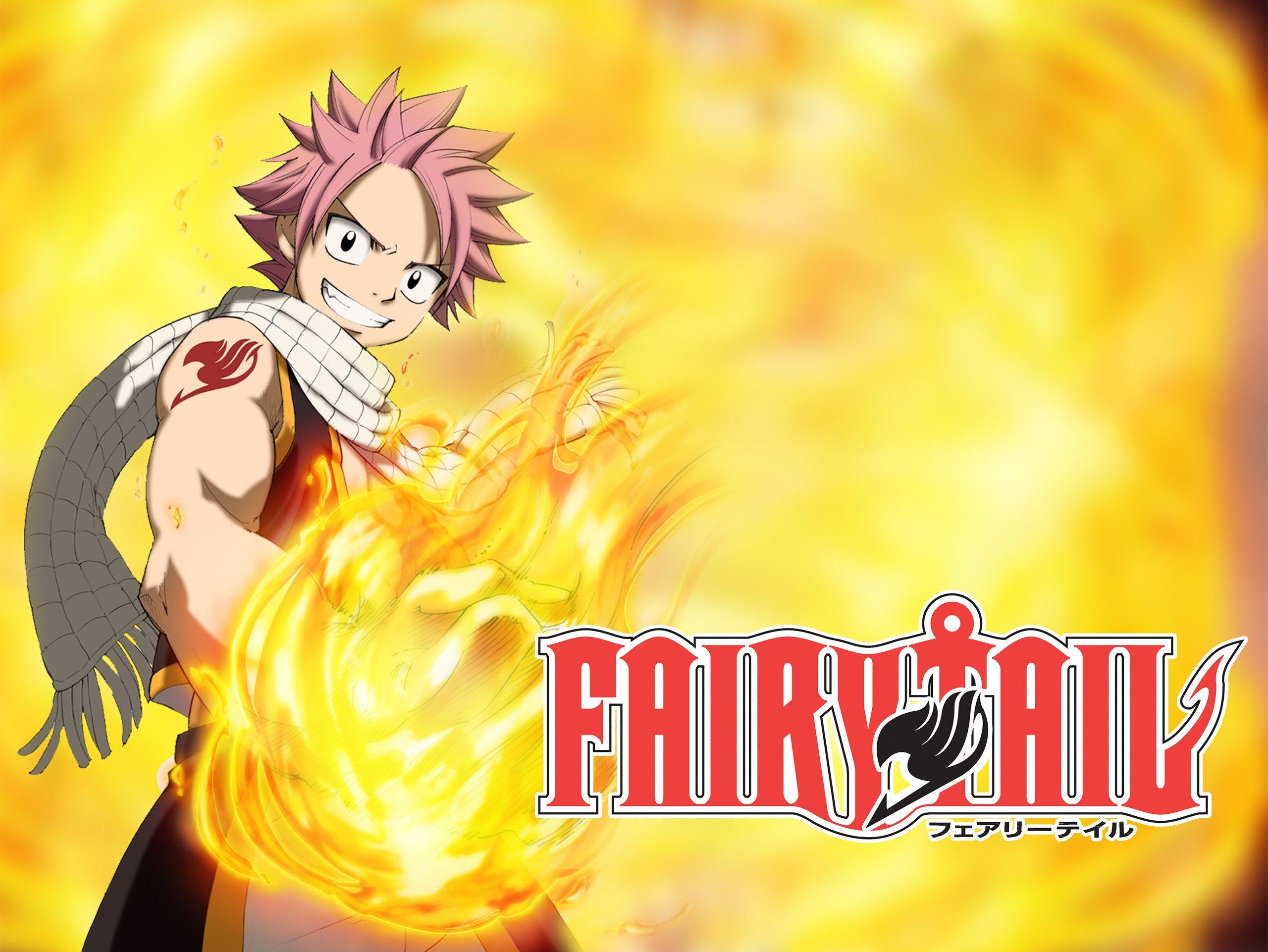 Saison 1 Anime Fairy Tail Offerte en Streaming HD - 12 Episodes (Dématérialisés - Anglais Sous-titré EN)