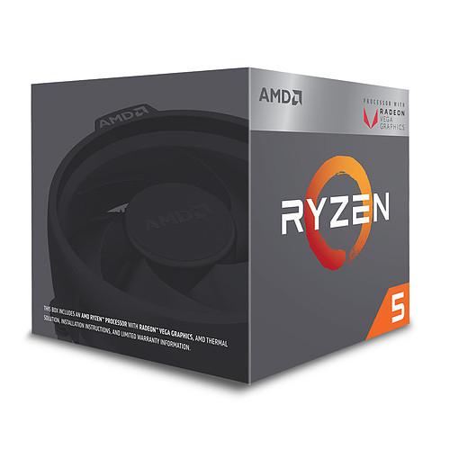 Processeur AMD Ryzen 5 2400G - 3.9 GHz