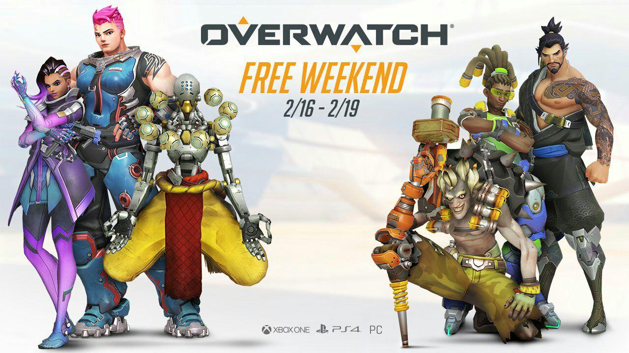 Overwatch jouable gratuitement du 16 au 20 février sur PC, PS4 et Xbox One