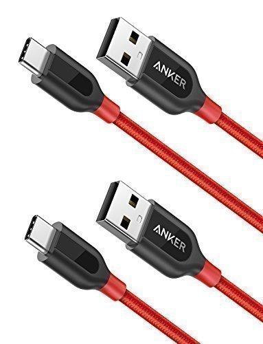 2 Câbles USB C vers USB A 2.0 Anker PowerLine - 90cm (vendeur tiers)