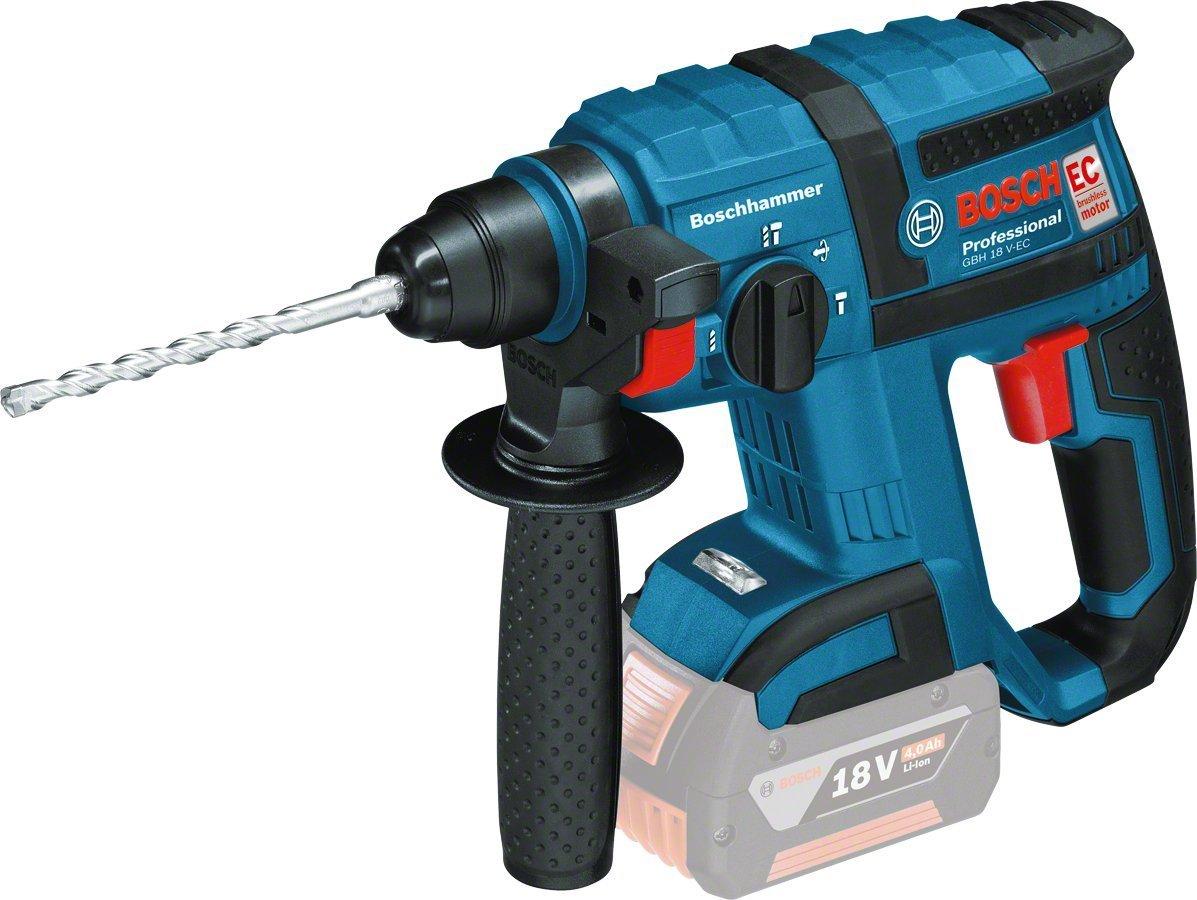 Perforateur sans Fil Bosch Professional GBH18V-EC (Outil Seul sans Batterie ni Chargeur)