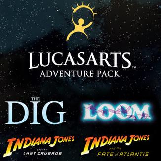 LucasArts Adventure Pack: Indiana Jones : Le destin d'Atlantis + Dernière croisade + Loom + The Dig sur PC (Dématérialisés - Steam)