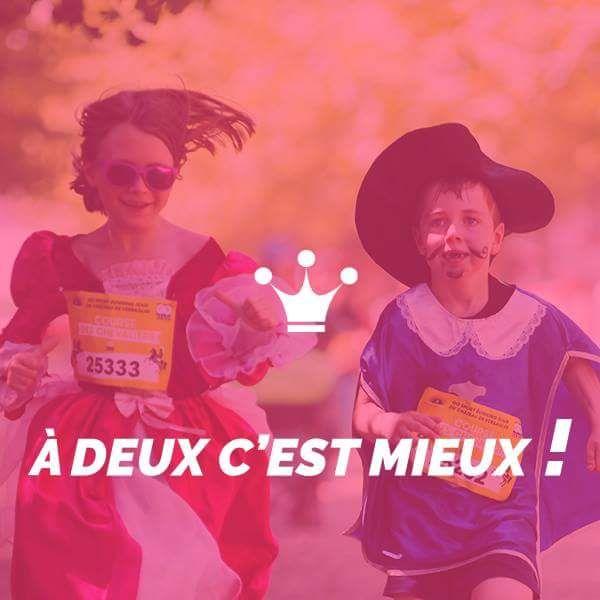 20% de réduction immédiate pour l'inscription de 2 Dossards minimum à la Course Royale / Course des Princesses le Dimanche 17 Juin 2018 - Château de Versailles (78)