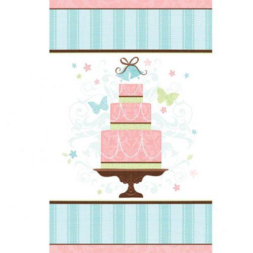 Nappe en papier Motif gâteau Amscan International