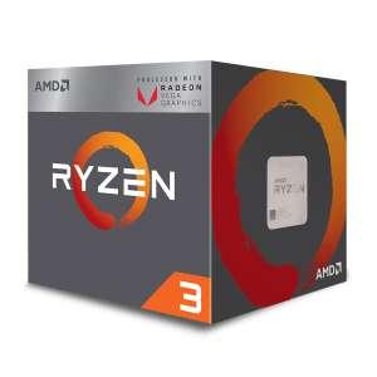 Processeur AMD Ryzen 3 2200G (3.5 GHz) avec Radeon Vega Graphics 8 coeurs