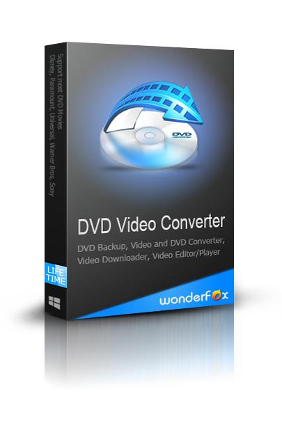 Logiciel DVD Video Converter v14.7 sur PC (licence à vie)