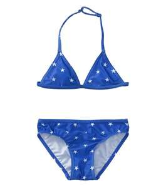 Bikini pour enfant - bleu (du 98 au 140 cm)
