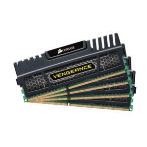 Kit mémoire Ram DDR3 Corsair Vengeance 32 Go (4x8Go) - PC3-15000, 1866 Mhz, CAS 10